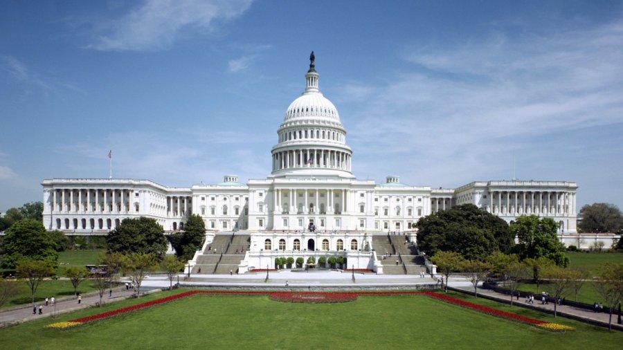 exterior of United States Capitol