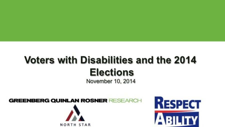 Voters with Disabilities and the 2014 Elections
