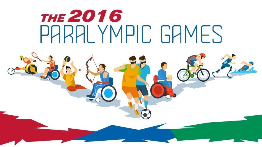 text: The 2016 Paralympic Games