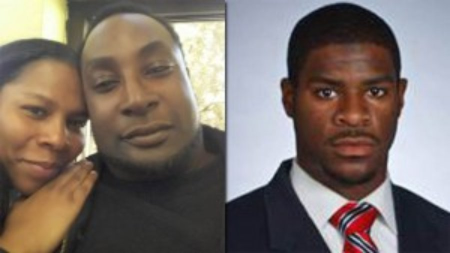 Left to right: Keith Lamont Scott and Officer Brentley Vinson. Vinson allegedly shot and killed Scott.