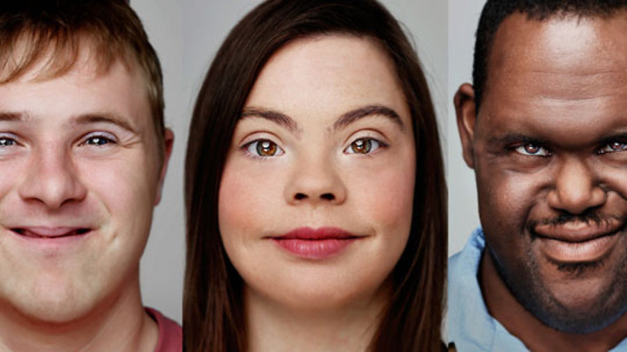 Headshots of Born This Way cast members Steven, Cristina and John