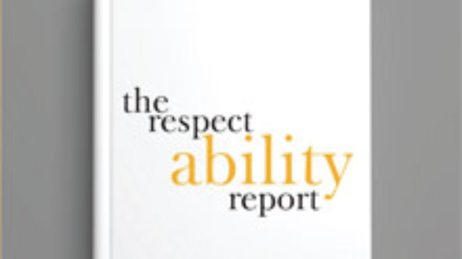 The Respect Ability Report - Image of Book Cover