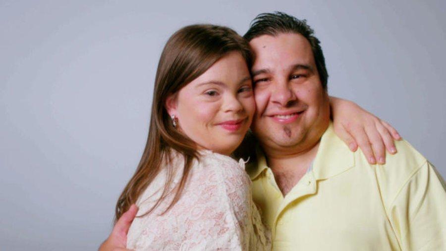 Cristina with fiance Angel