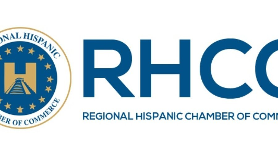 The logo for the Regional Hispanic Chamber of Commerce in Long Beach