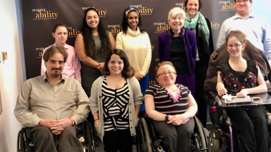 Eleanor Clift and RespectAbility's Spring 2018 Fellows