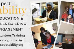 WEBINAR: Free RespectAbility Volunteer Training – Education & Skills Building Engagement