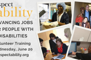 WEBINAR: Free RespectAbility Volunteer Training – Advancing Jobs for People with Disabilities