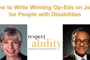 Webinar: How to Write Winning Op-eds on Jobs for People with Disabilities