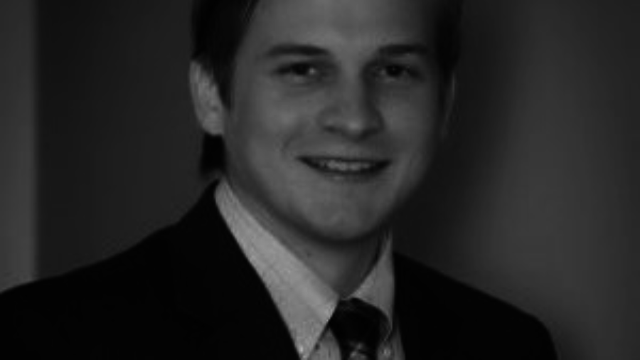 Garrett Patterson smiling