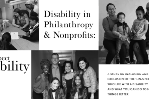 Release of Major Study on Intersection of Disability, Nonprofits and Philanthropy