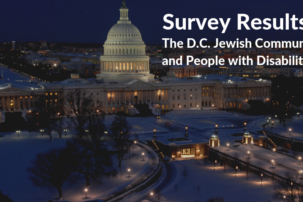 Poll: Most D.C.-area Jews Don't Know Any Rabbis or Staff with Disabilities