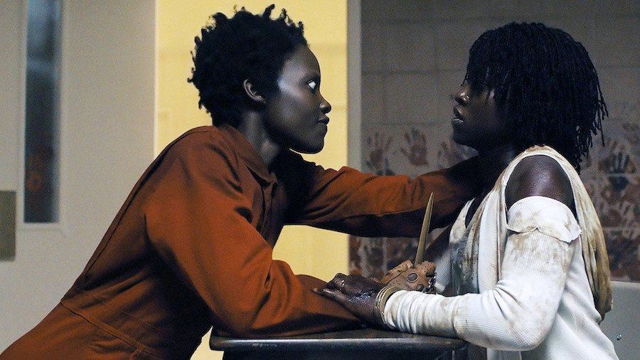 Lupita Nyong'o in dual roles as Red and Adelaide Wilson in