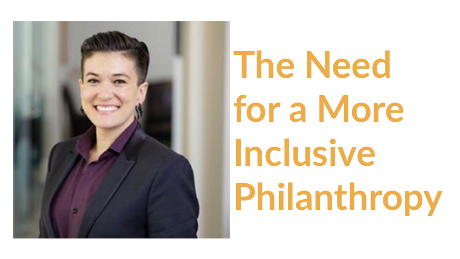 The Need for a More Inclusive Philanthropy: Lessons from A. Sparks