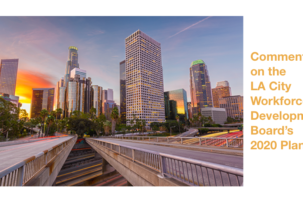 RespectAbility Submits Public Comments on LA City Workforce Development Board's 2020 Plan