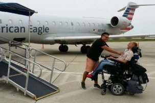 Lenny Larsen: Globetrotting Entertainment Executive Refuses To Be Defined By His Disability