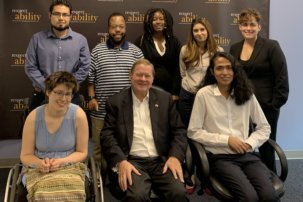 Rep. Steve Bartlett Brings His Passion For Disability Inclusion to RespectAbility Fellows