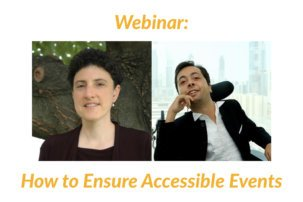 Webinar: How to Ensure Accessible Events