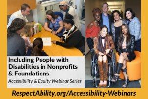 17 Philanthropy and Nonprofit Organizations Join Together to Advance Access for People with Disabilities