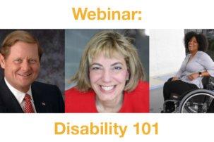 Webinar: Disability 101