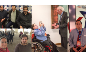 Reporters who use wheelchairs break barriers to inclusion in political media by covering NH debate