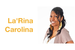 "La'Rina Carolina: ""Pioneer breaking the inequality lines between deaf and hearing societies"""