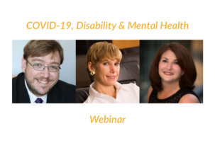 Webinar: COVID-19, Disability & Mental Health