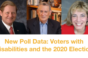 NEW POLL DATA: Voters with Disabilities and the 2020 Election
