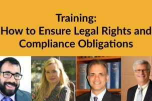 "Training: ""How to Ensure Legal Rights and Compliance Obligations"""