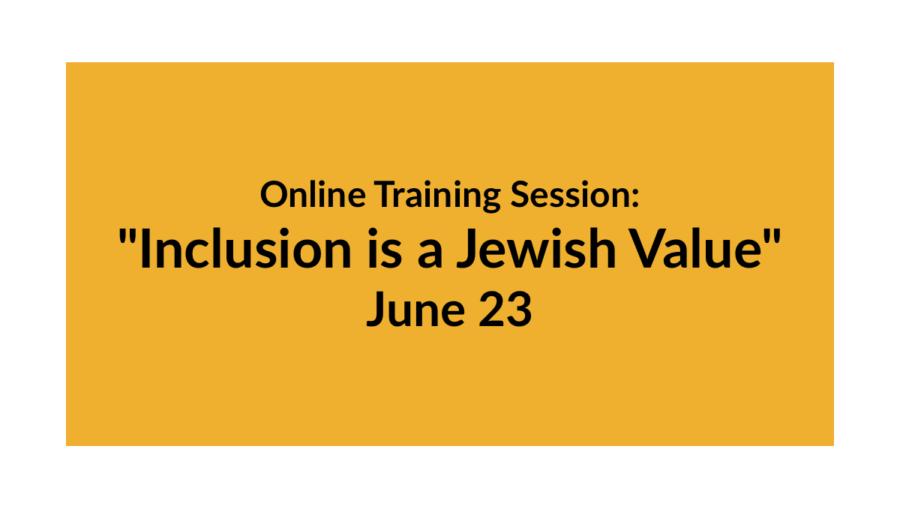 Online Training Session:
