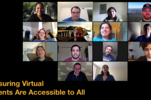 New Toolkit Helps Organizations Ensure Their Zoom and Other Virtual Events Are Accessible to All