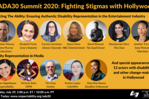 Cast of Hollywood Changemakers Fight Stigmas During Americans with Disabilities Act Celebration