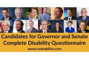 14 Candidates for Governor and Senate Complete Disability Questionnaire