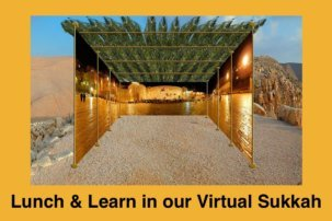 Lunch & Learn in our Virtual Sukkah