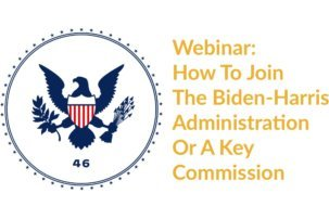How To Join The Biden-Harris Administration Or A Key Commission