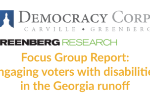 New Focus Group Report Shows Lack Of Attention To Georgia Voters with Disabilities