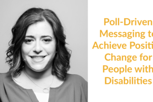 Poll-Driven Messaging to Achieve Positive Change for People with Disabilities