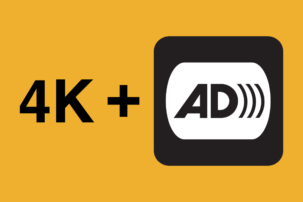 Don't Make Low-Vision Viewers Choose Between Vibrant 4K Picture and Audio Description