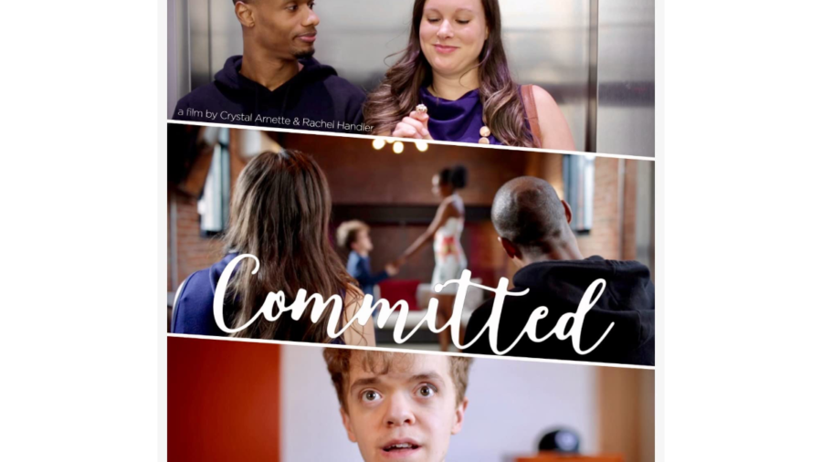 Poster for Committed, a short film showing at Slamdance festival