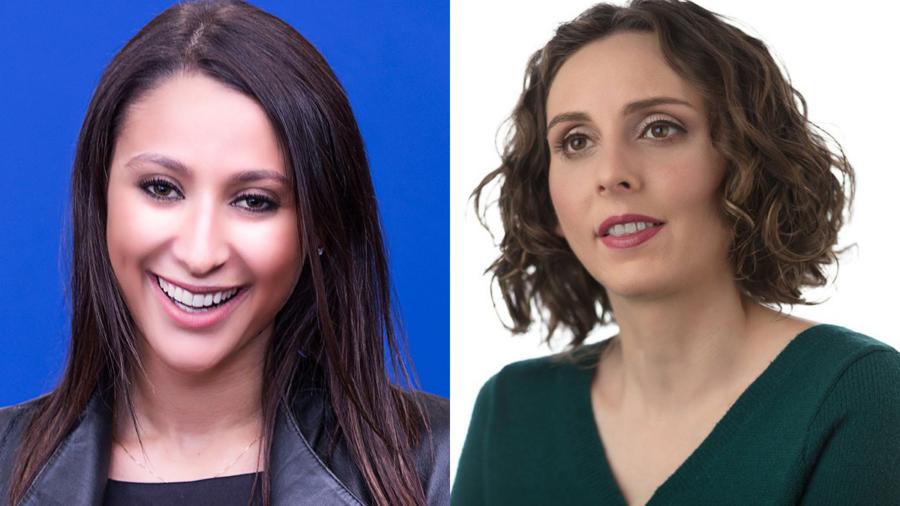Headshots of Jennifer Fink and Dr. Arielle Silverman