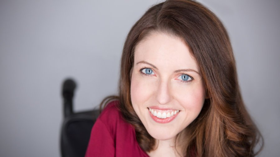 Shannon DeVido smiling headshot