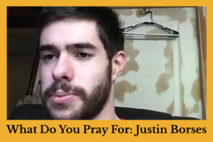 "Journalist Justin Borses Featured in Series on Jews With Disabilities, ""What Do You Pray For?"""