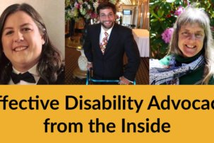 """""""Leaders of the Future"""" – Effective Disability Advocacy from the Inside"""