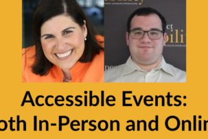 """""""Leaders of the Future"""" – Accessible Events: Both In-Person and Online"""