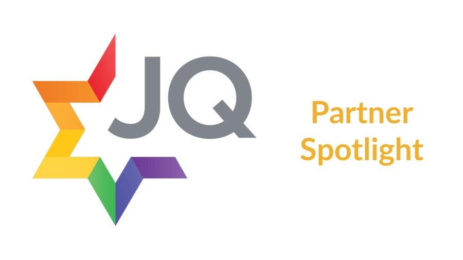 JQ International logo. Text: Partner Spotlight