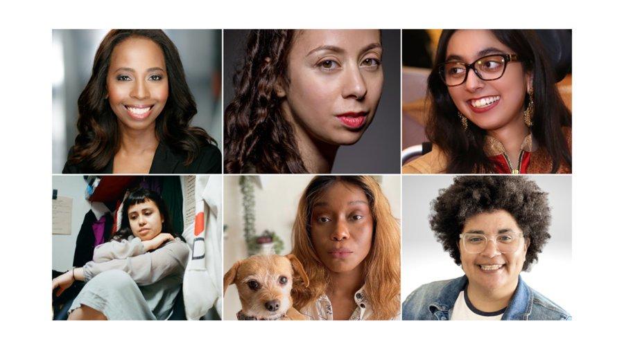 Headshots of six Sundance Accessible Futures Initiative Fellows