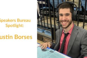 Speakers Bureau Spotlight: Justin Borses
