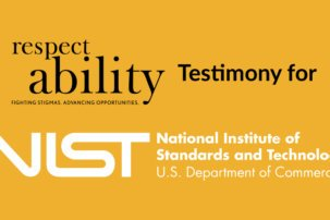 RespectAbility Responds to Request for Ideas on Promoting Access for Voters with Disabilities