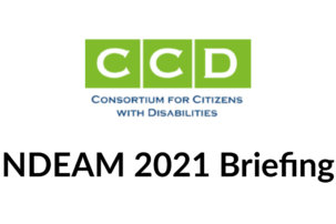 Consortium for Citizens with Disabilities Briefing: Celebrating NDEAM