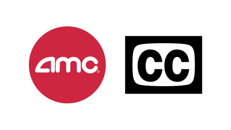 AMC logo and icon for closed captioning
