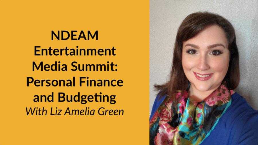 Headshot of Liz Amelia Green. Text: